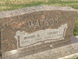Maude Belle <I>Rhoades</I> Watson