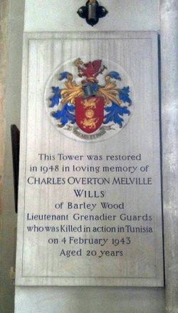 Charles Overton Melville Wills