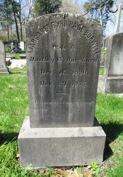 Margaret Byrd Page <I>Burwell</I> Burchard