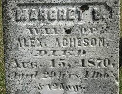 Margaret L. <I>Burnett</I> Acheson