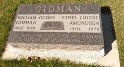 Ethel Louise <I>Amundsen</I> Gidman