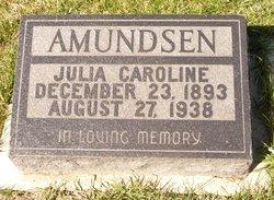 Julia Caroline <I>Soby</I> Amundsen
