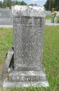 Mary Elizabeth <I>Stevens</I> Boswell