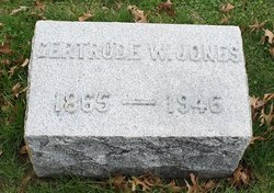 Gertrude W. <I>Chandler</I> Jones