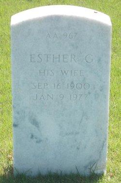 Esther Grace <I>Lane</I> Geeson