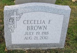 Cecelia F. <I>Krol</I> Brown