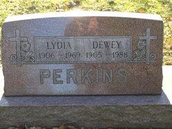 Lydia <I>Tackett</I> Perkins