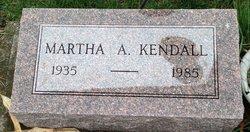Martha A. Kendall