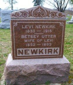 "Elizabeth Ann ""Betsy"" <I>Utter</I> Newkirk"