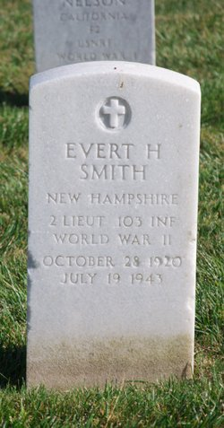 2LT Evert H Smith