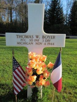 PFC Thomas W. Boyer