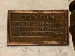 May B <I>Keeler</I> Dunton