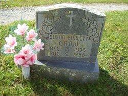 Susan <I>Boblett</I> Crow