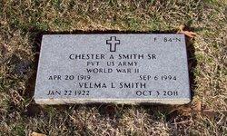 Chester A Smith, Sr