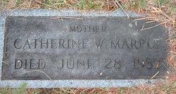 Catherine W. <I>Rust</I> Marple