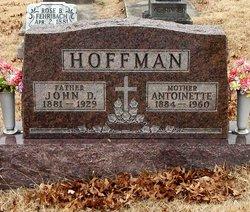 "Antoinette R. ""Nettie"" <I>Kunkel</I> Hoffman"