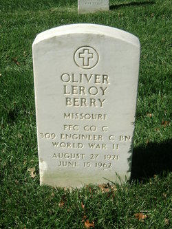 PFC Oliver Leroy Berry