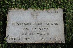 Benjamin Cruickshank