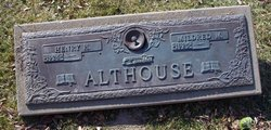 Mildred M. <I>Haak</I> Althouse