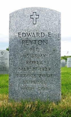 Edward E Peyton