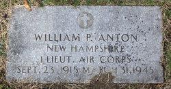 1LT William Perley Anton