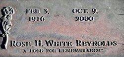 Fannie Rose <I>Hedgecoke</I> White Reynolds
