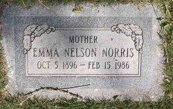 Emma Emilie <I>Nelson</I> Norris