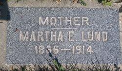 """Martha Ellen """"Mattie"""" <I>Gledhill</I> Lund"""