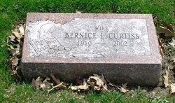Bernice L. <I>Scofield</I> Curtiss