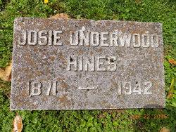 Josie <I>Underwood</I> Hines