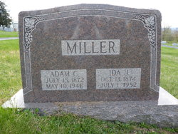 Ida Jane <I>Gutshall</I> Miller