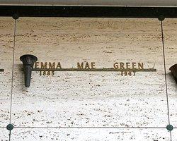 Emma Mae <I>Baine</I> Green