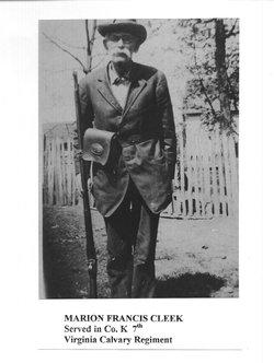 """Francis Marion """"Frank"""" Cleek"""