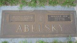 Hazel <I>Snider</I> Abelsky