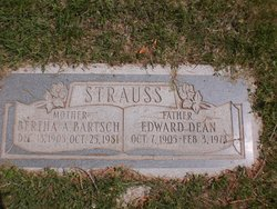 Bertha Strauss