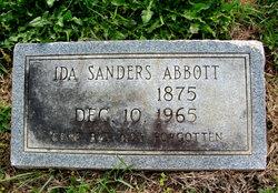 Ida <I>Sanders</I> Abbott