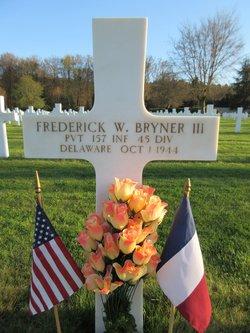 Pvt Frederick William Bryner, III