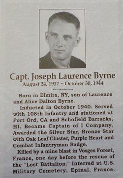 Capt Joseph Laurence Byrne