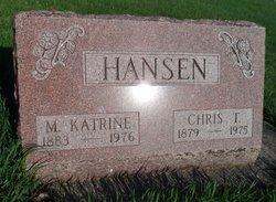 Maren Katrine <I>Mikkelsen</I> Hansen