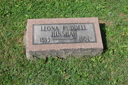 Leona <I>Ruddell</I> Hinshaw