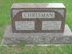 "Harold Thurbert ""Harley"" Chrisman, Sr"