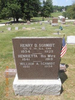 Henrietta <I>Mehlin</I> Schmidt