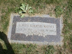 Almira Rose <I>Summers</I> Maynes