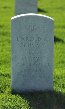 Harold K Crummy