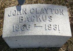 John Clayton Backus