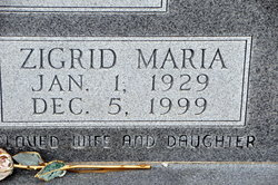 Zigrid Maria English