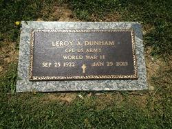 """Leroy """"Al"""" Dunham"""