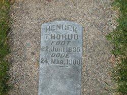 "Henrek ""Hendrick"" Thorud"
