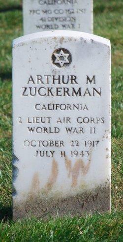 Arthur M Zuckerman
