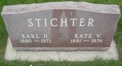 Kate V. <I>Backus</I> Stichter